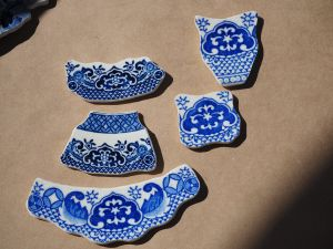 Some of the shaped ceramics