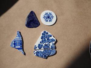 cut/cleaned ceramics